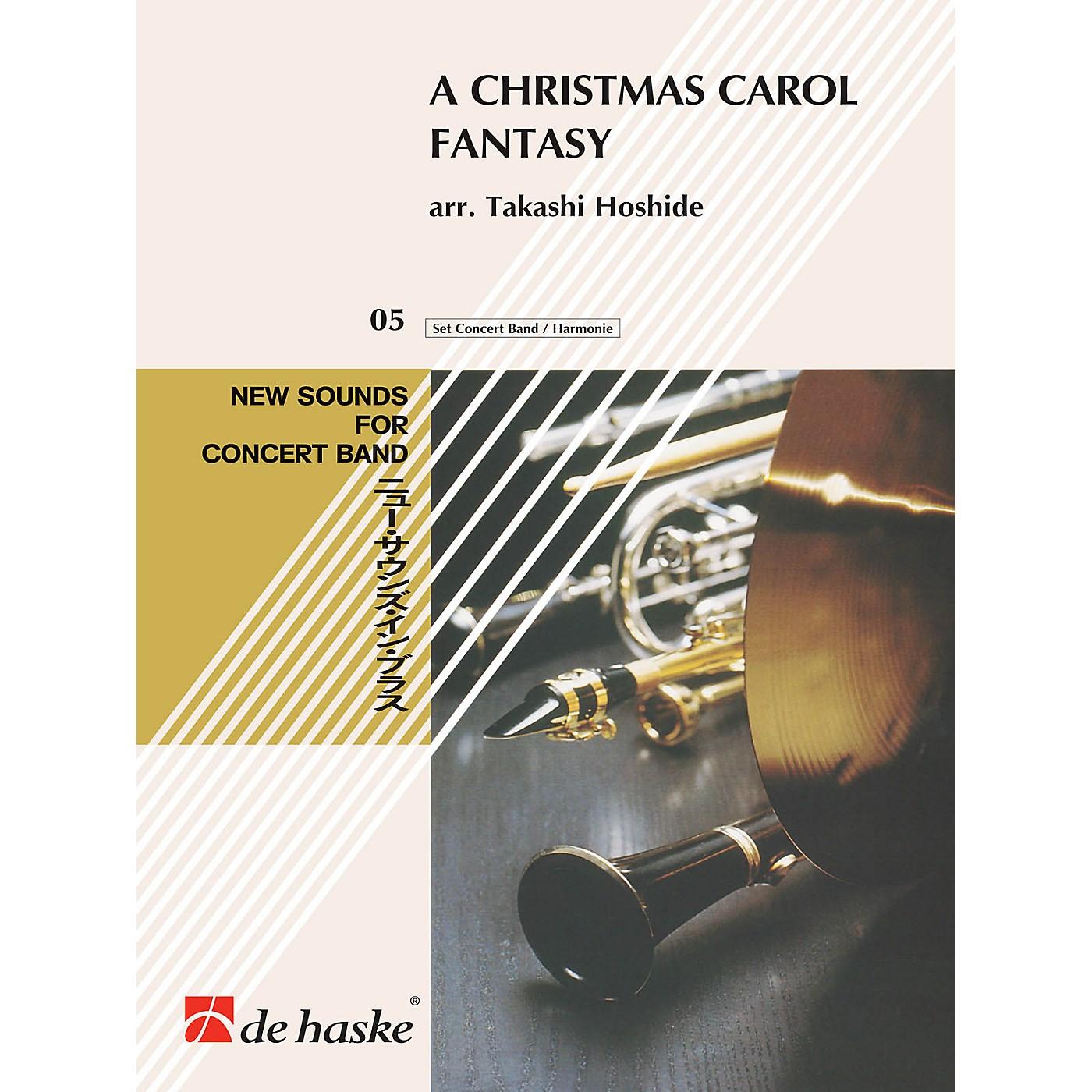 Hal Leonard A Christmas Carol Fantasy Concert Band Composed by Takashi Hoshide thumbnail