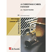 Hal Leonard A Christmas Carol Fantasy Concert Band Composed by Takashi Hoshide