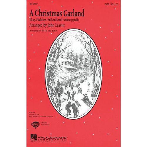 Hal Leonard A Christmas Garland (Medley) 2-Part Arranged by John Leavitt thumbnail