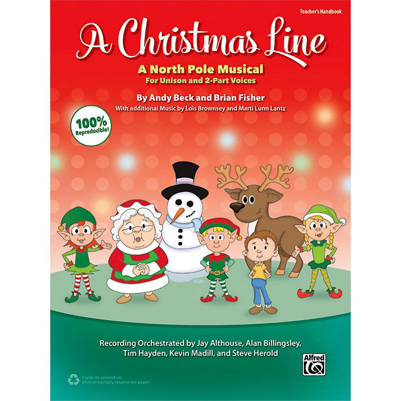 Alfred A Christmas Line Teacher's Handbook thumbnail