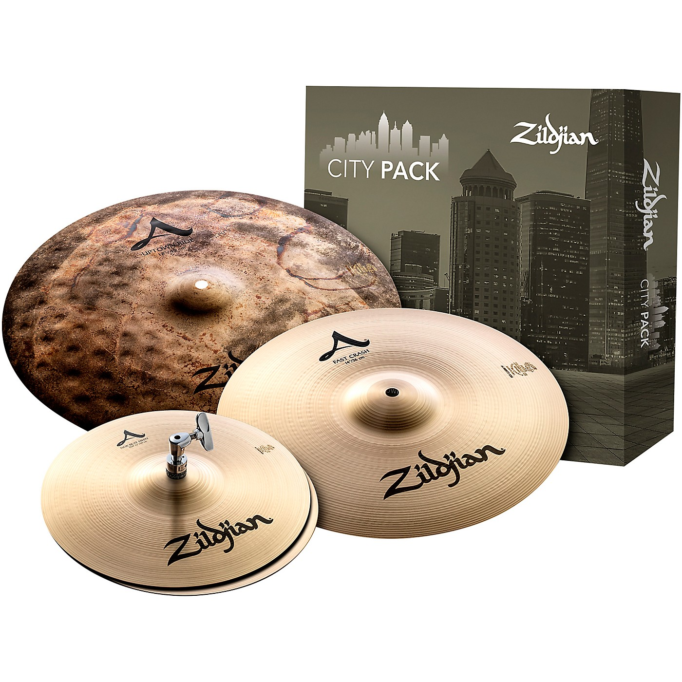 Zildjian A City Cymbal Pack thumbnail