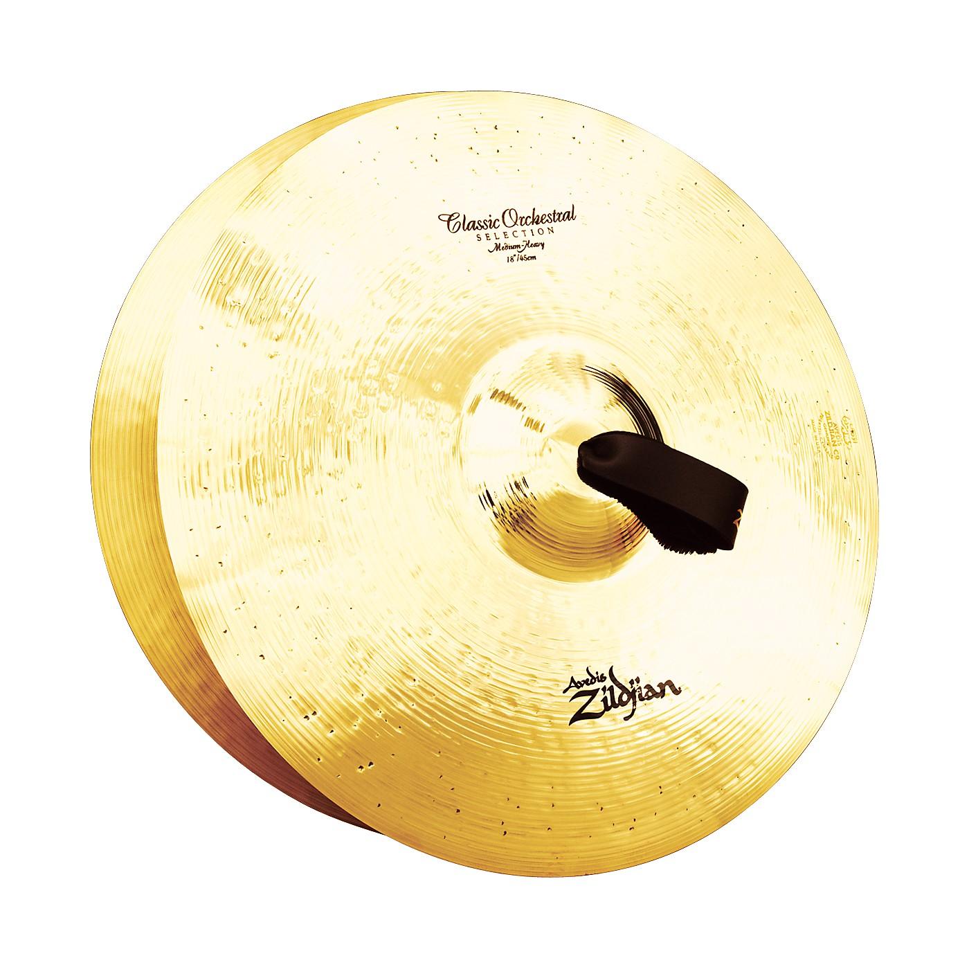 Zildjian A Classic Orchestral Medium Heavy Crash Cymbal Pair thumbnail