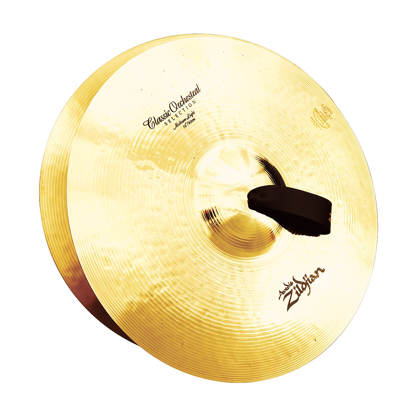 Zildjian A Classic Orchestral Medium Light Crash Cymbal Pair thumbnail