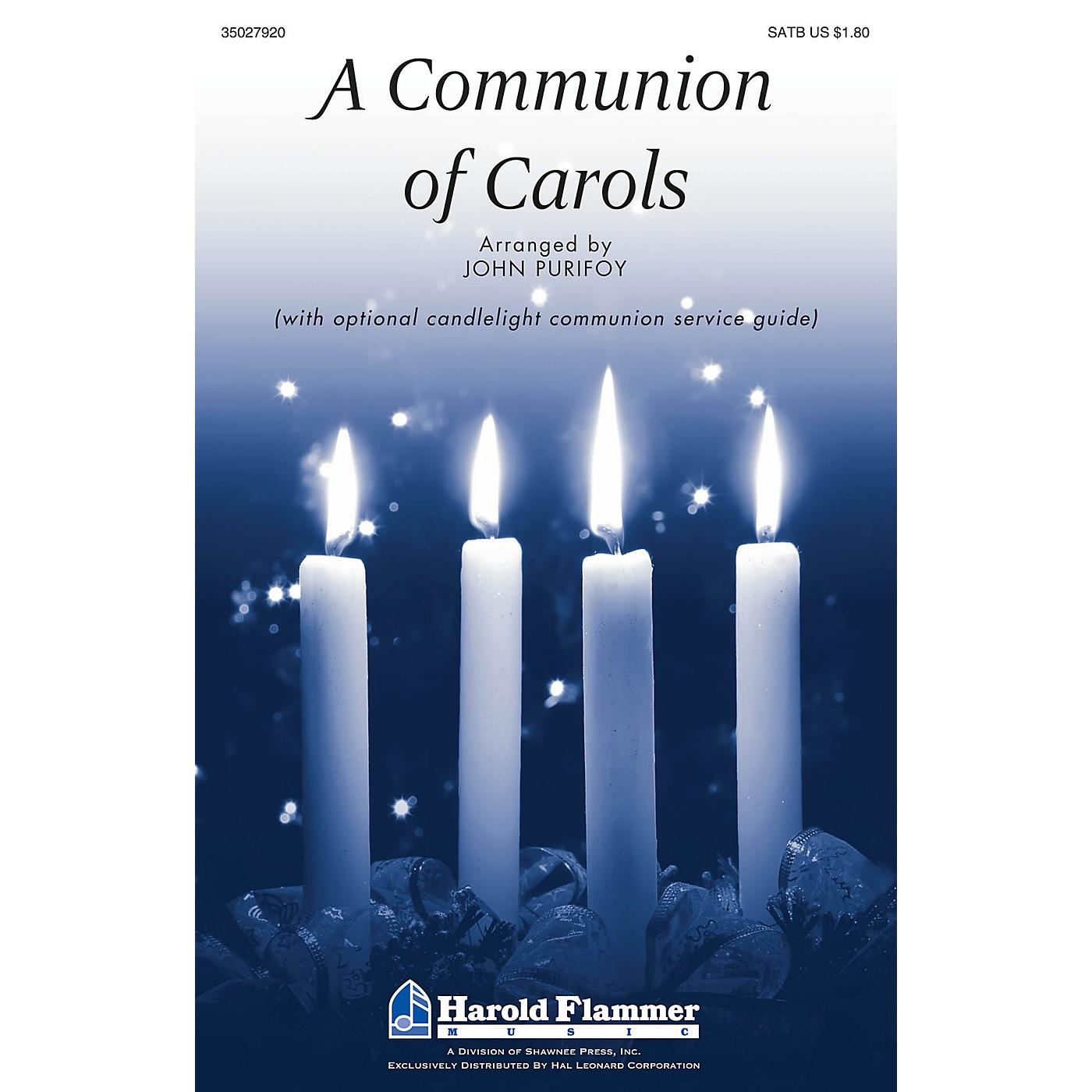 Shawnee Press A Communion of Carols SATB arranged by John Purifoy thumbnail