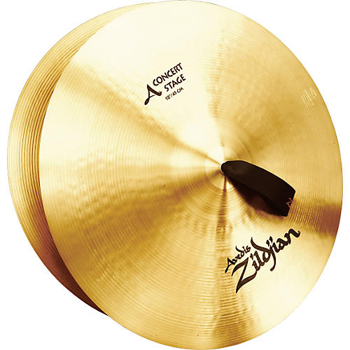 Zildjian A Concert Stage Crash Cymbal Pair thumbnail