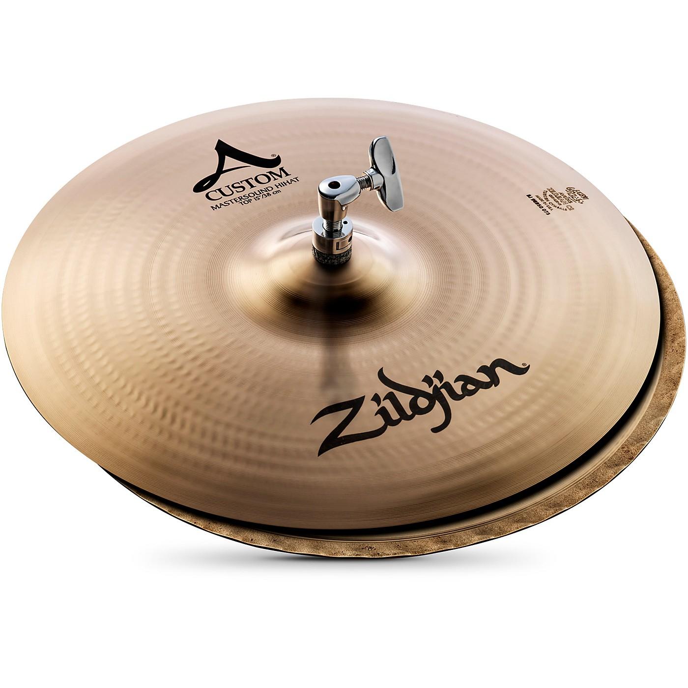 Zildjian A Custom Mastersound Hi-Hat Pair thumbnail
