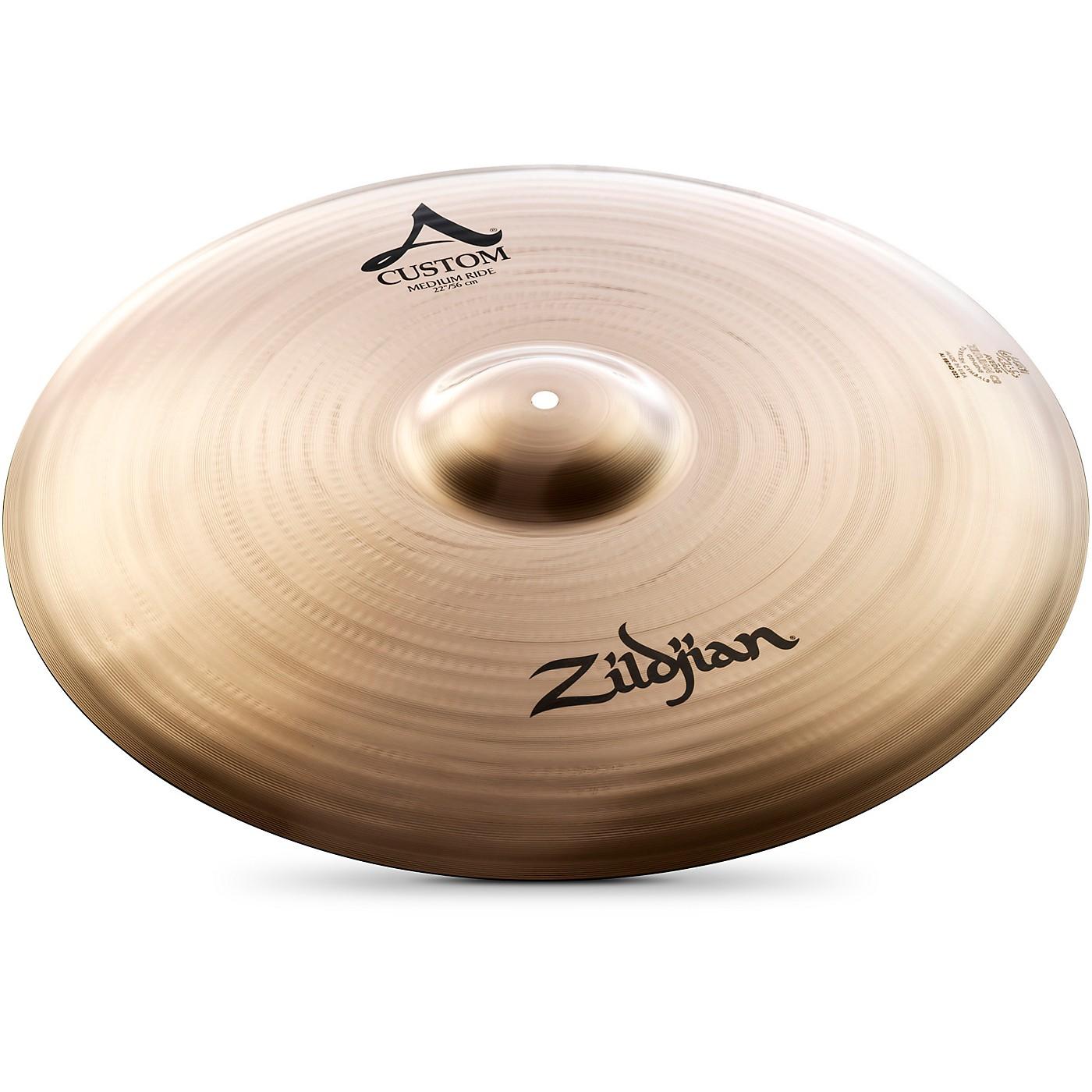Zildjian A Custom Medium Ride Cymbal thumbnail