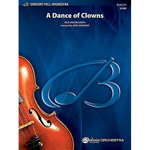 Alfred A Dance of Clowns from A Midsummer Night's Dream Full Orchestra Grade 3.5 Set thumbnail