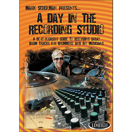 Hudson Music A Day In The Recording Studio Drum DVD-thumbnail