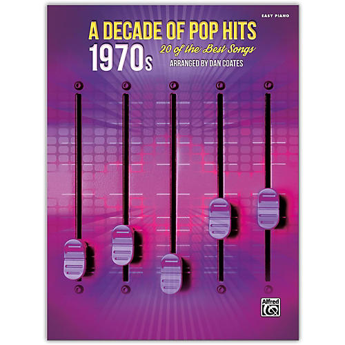 Alfred A Decade of Pop Hits: 1970s Easy Piano Songbook thumbnail