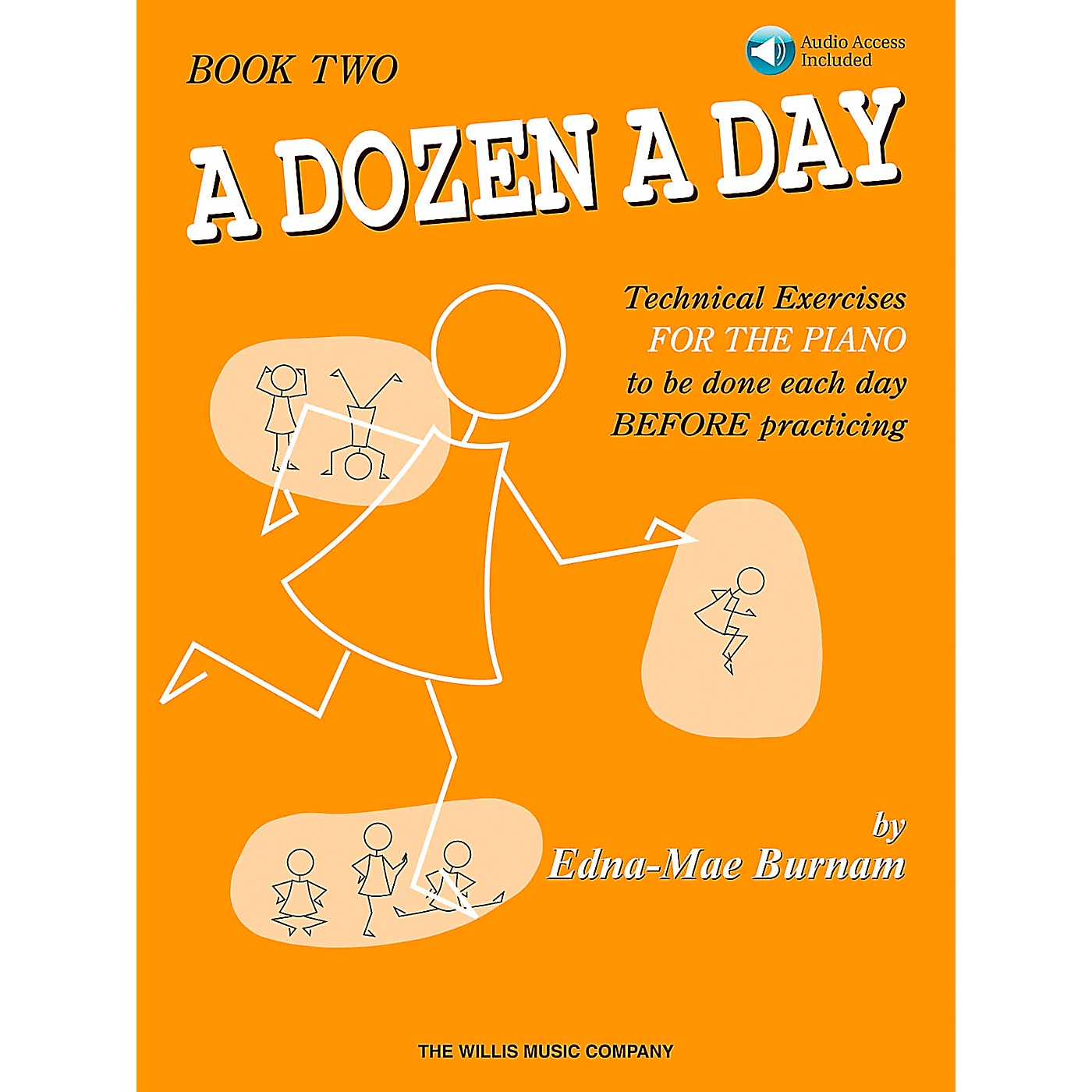 Willis Music A Dozen A Day - Book 2 Book/CD thumbnail