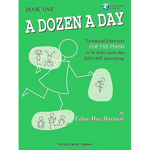 Willis Music A Dozen A Day Book 1 Book/CD thumbnail