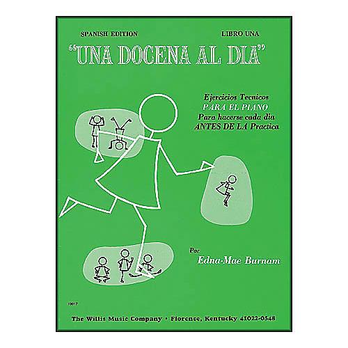 Willis Music A Dozen A Day Book 1 (Spanish Edition) Una Docena Al Dia Book One Piano thumbnail