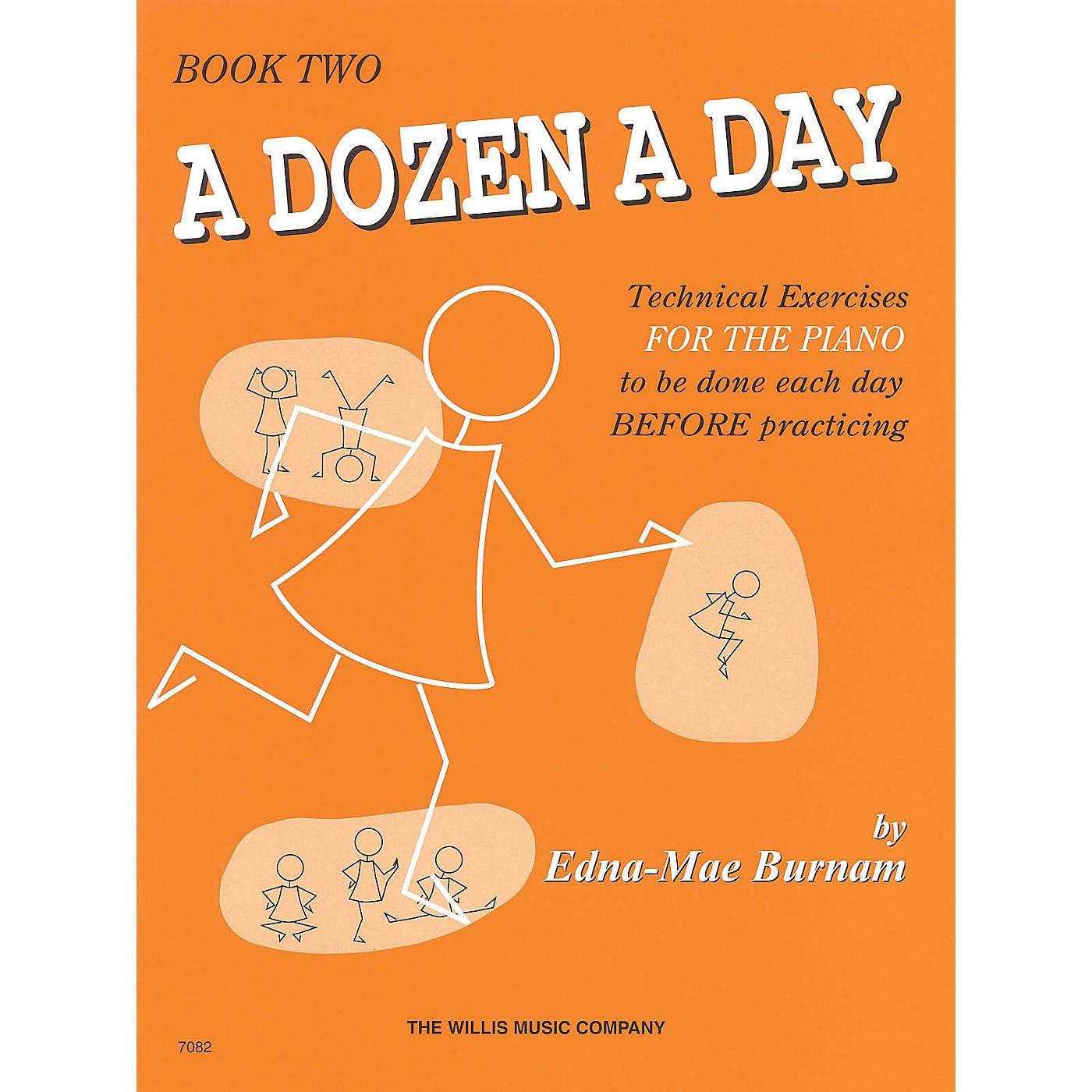Hal Leonard A Dozen A Day Book 2 (Orange cover) thumbnail