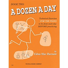 Hal Leonard A Dozen A Day Book 2 (Orange cover)