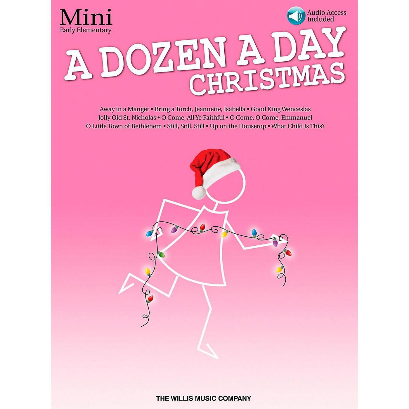 Hal Leonard A Dozen A Day Christmas Songbook - Mini (Book/Audio On-Line) thumbnail
