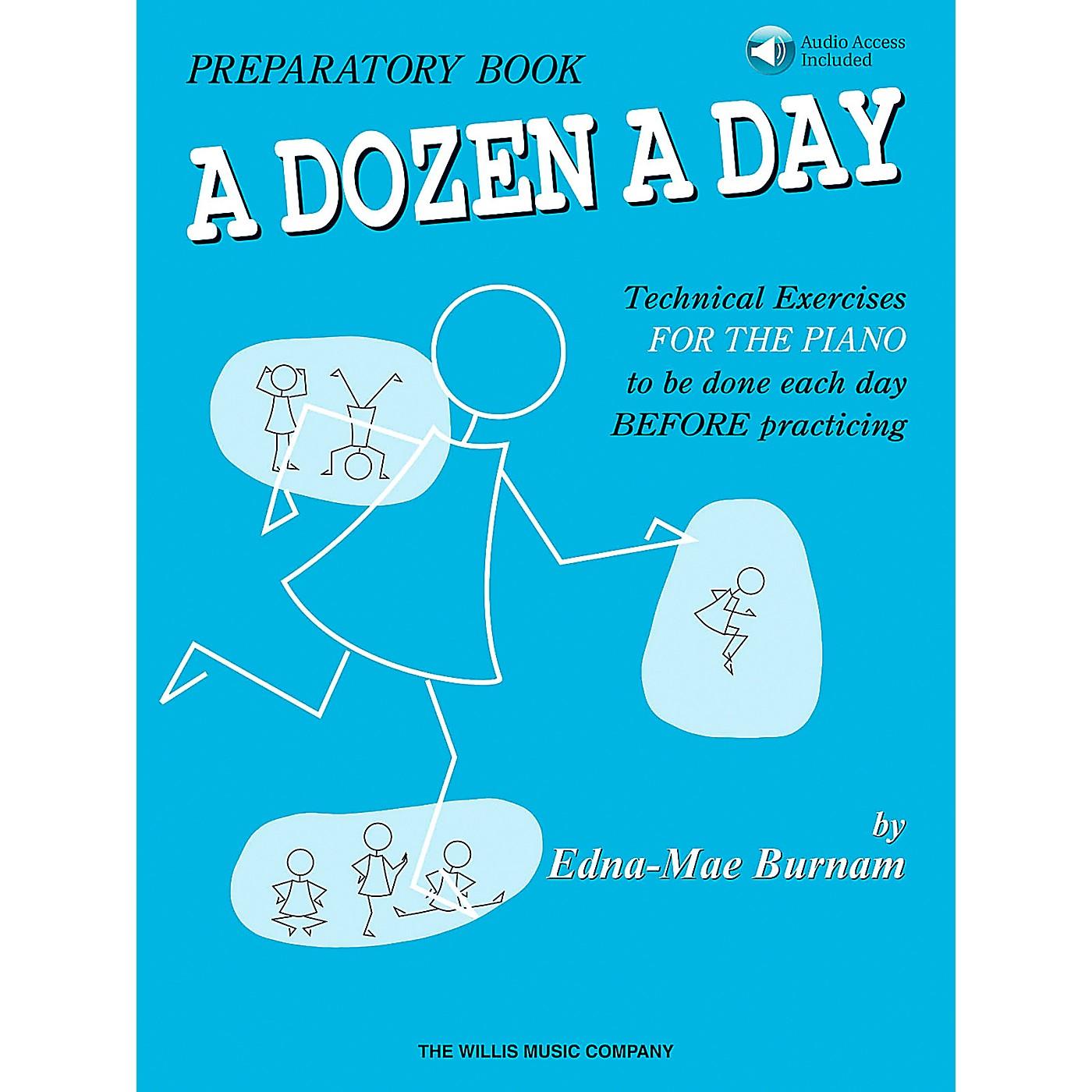 Willis Music A Dozen A Day Preparatory Book/CD thumbnail