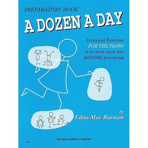 Hal Leonard A Dozen A Day Preparatory Book Technical Exercises For Piano (Blue cover) thumbnail