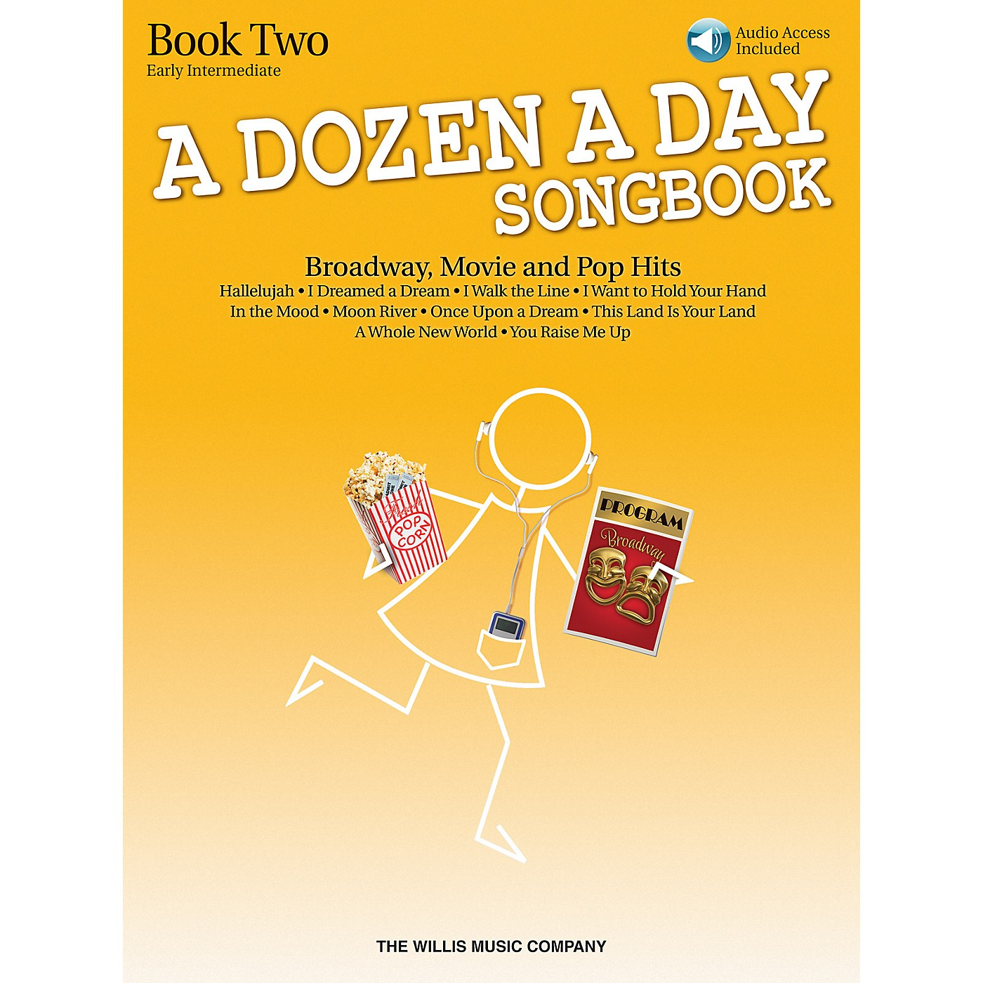 Willis Music A Dozen A Day Songbook - Book 2 (Early Inter Level) Willis Series Book with CD by Various thumbnail
