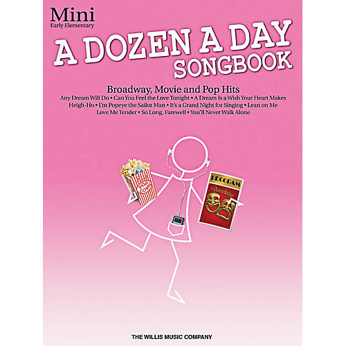 Willis Music A Dozen A Day Songbook - Mini Early Elementary Level Book thumbnail