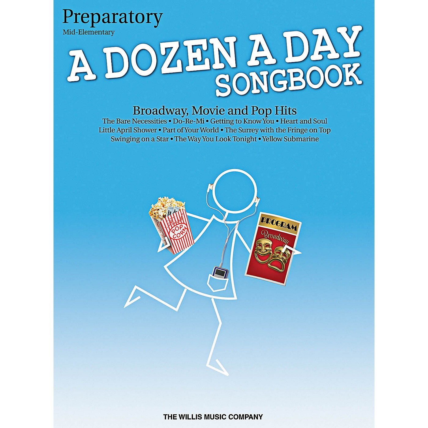 Willis Music A Dozen A Day Songbook - Preparatory Book Mid-Elementary Level for Piano thumbnail