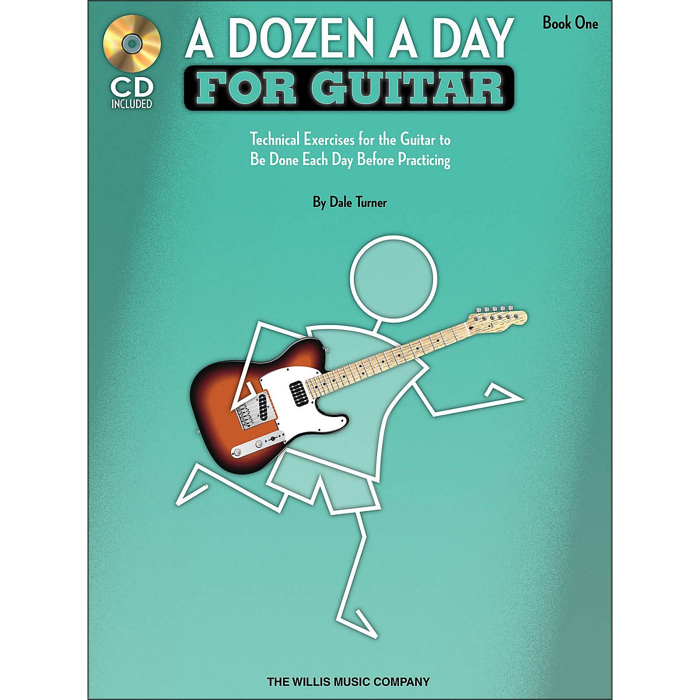 Willis Music A Dozen A Day for Guitar - Book 1 Book/CD Pack thumbnail