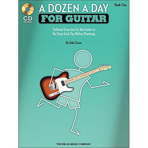 Willis Music A Dozen A Day for Guitar - Book 1 Book/CD Pack-thumbnail