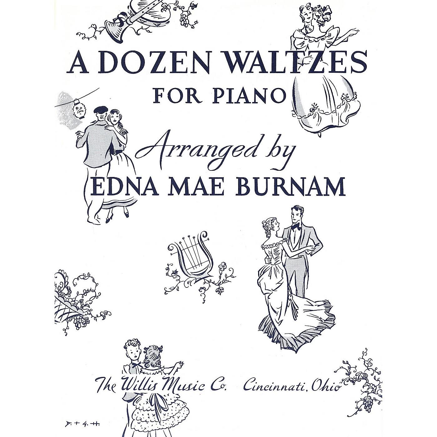 Willis Music A Dozen Waltzes (Later Elem Level) Willis Series thumbnail