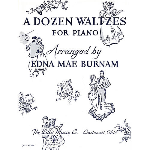 Willis Music A Dozen Waltzes (Later Elem Level) Willis Series thumbnail