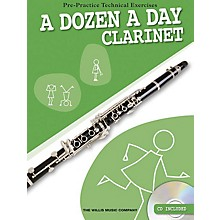 Willis Music A Dozen a Day - Clarinet (Pre-Practice Technical Exercises) Willis Series Softcover with CD