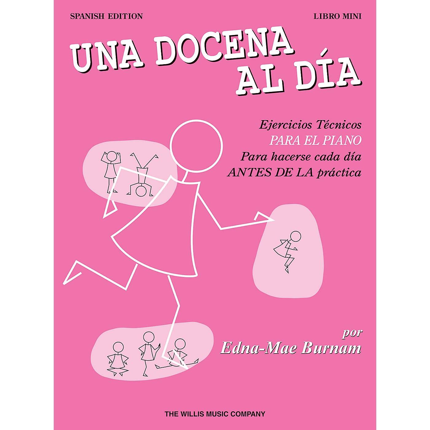 Willis Music A Dozen a Day Mini Book - Spanish Edition Willis Series Written by Edna Mae Burnam thumbnail