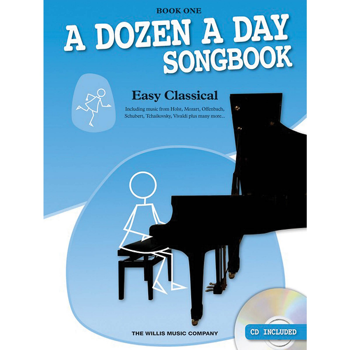 Music Sales A Dozen a Day Songbook - Easy Classical, Book One Willis Series Softcover with CD Composed by Various thumbnail