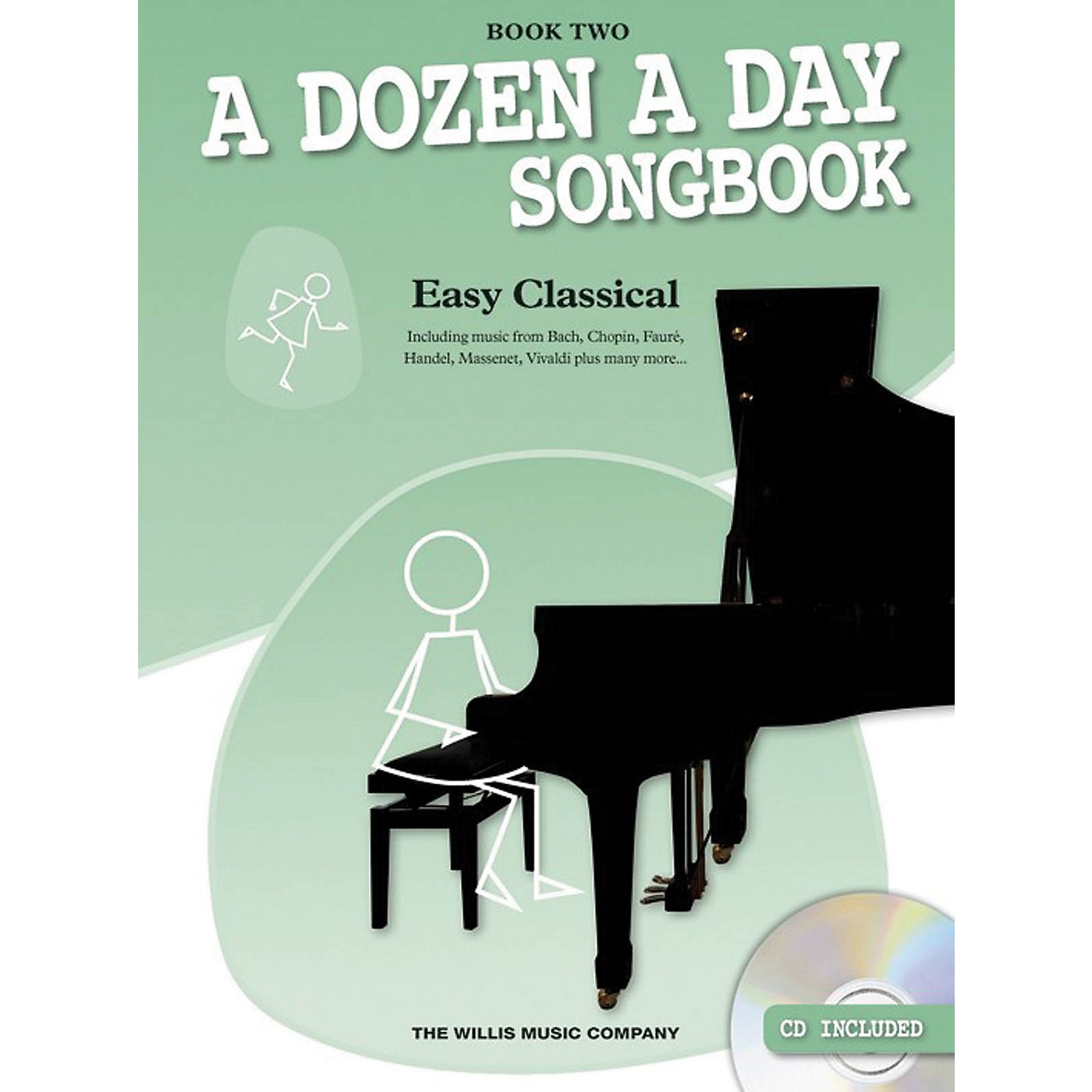 Music Sales A Dozen a Day Songbook - Easy Classical, Book Two Willis Series Softcover with CD Composed by Various thumbnail