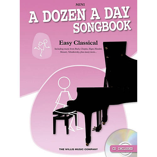 Music Sales A Dozen a Day Songbook - Easy Classical, Mini Willis Series Softcover with CD Composed by Various thumbnail