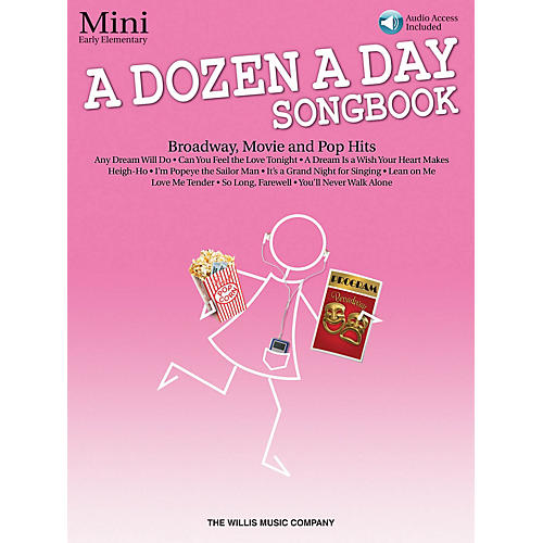 Willis Music A Dozen a Day Songbook - Mini (Early Elem Level) Willis Series Book with CD by Various (Level Early Elem) thumbnail
