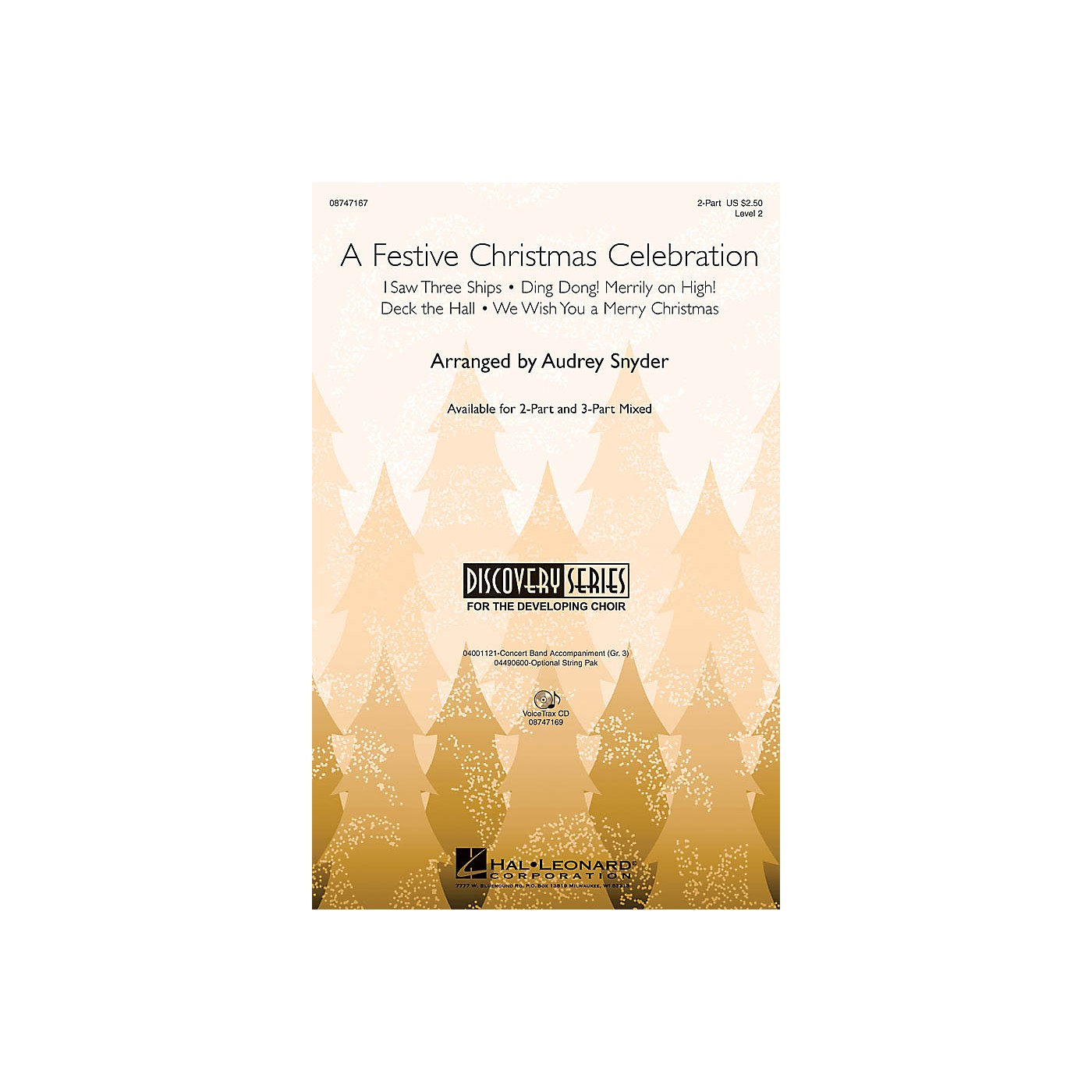 Hal Leonard A Festive Christmas Celebration 2-Part arranged by John Moss thumbnail