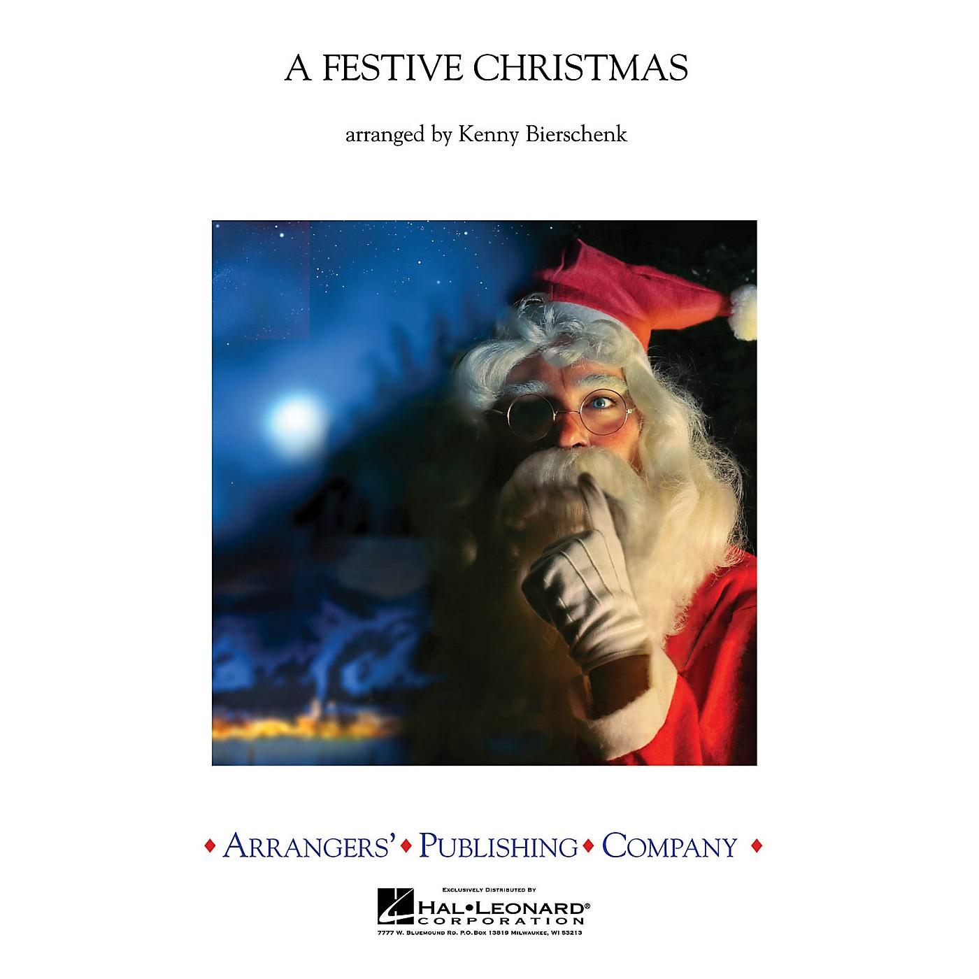 Arrangers A Festive Christmas Concert Band Arranged by Kenny Bierschenk thumbnail