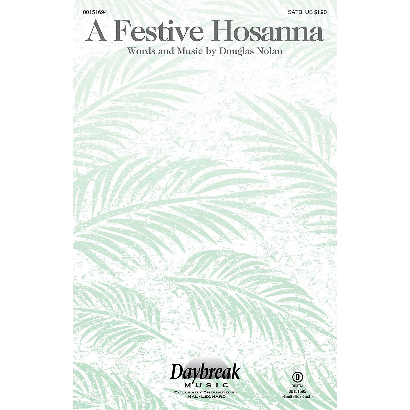 Daybreak Music A Festive Hosanna SATB composed by Douglas Nolan thumbnail