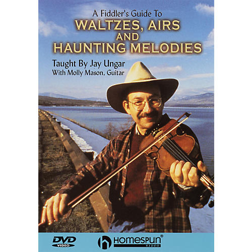 Homespun A Fiddler's Guide to Waltzes, Airs and Haunting Melodies DVD/Instructional/Folk Instrmt DVD by Jay Ungar thumbnail