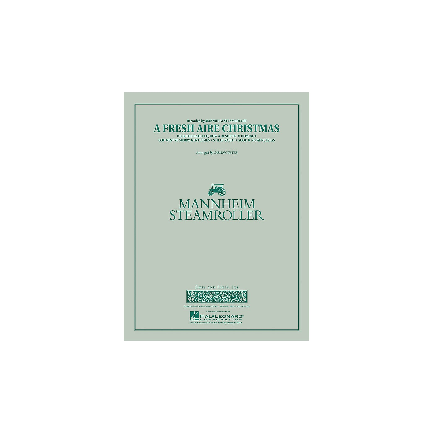 Mannheim Steamroller A Fresh Aire Christmas - Young Concert Band Level 3 arranged by Chip Davis thumbnail