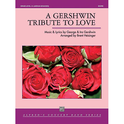 Alfred A Gershwin Tribute to Love Concert Band Grade 4.5 Set thumbnail
