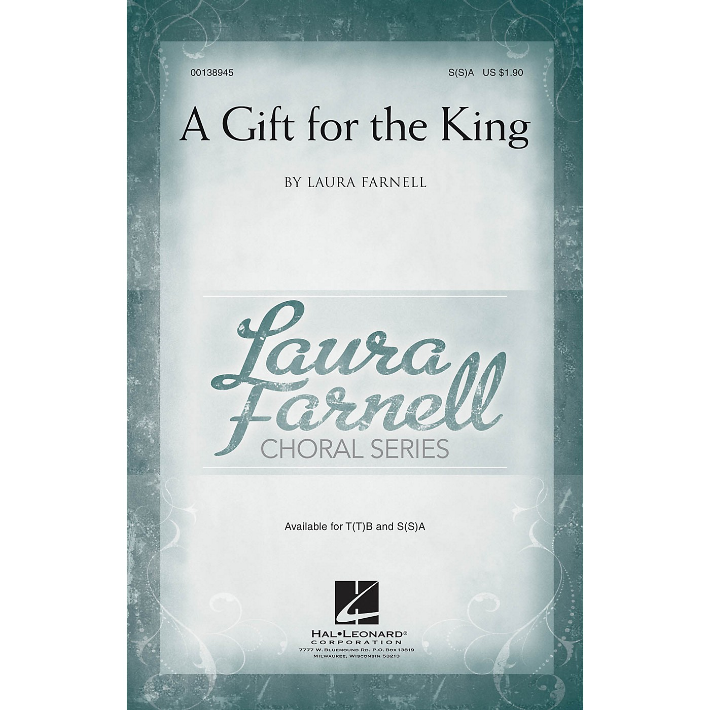 Hal Leonard A Gift for the King SA with optional 2nd sop composed by Laura Farnell thumbnail