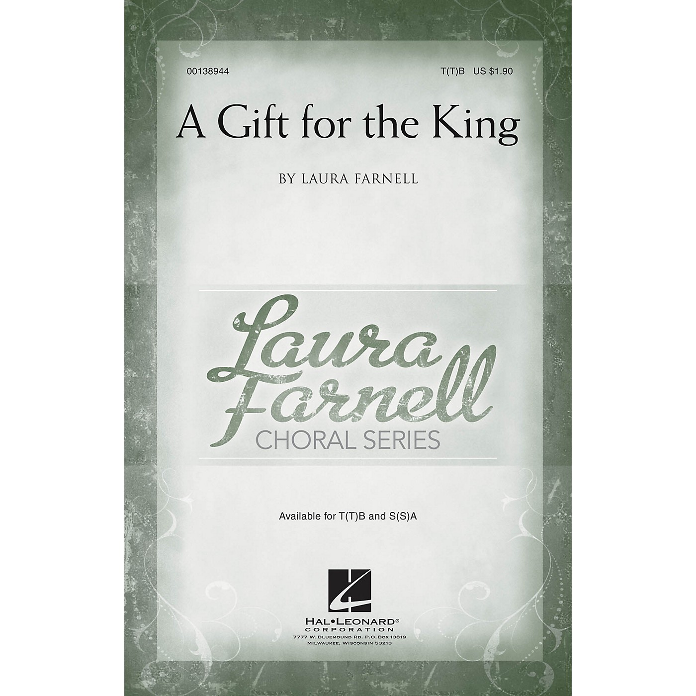 Hal Leonard A Gift for the King T(T)B composed by Laura Farnell thumbnail