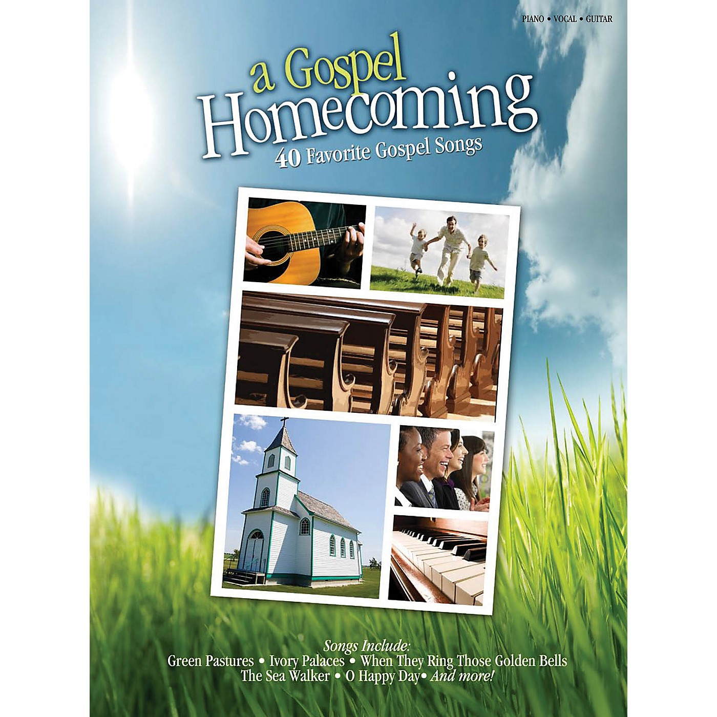 Shawnee Press A Gospel Homecoming Piano/Voice/Guitar Composed by Various thumbnail