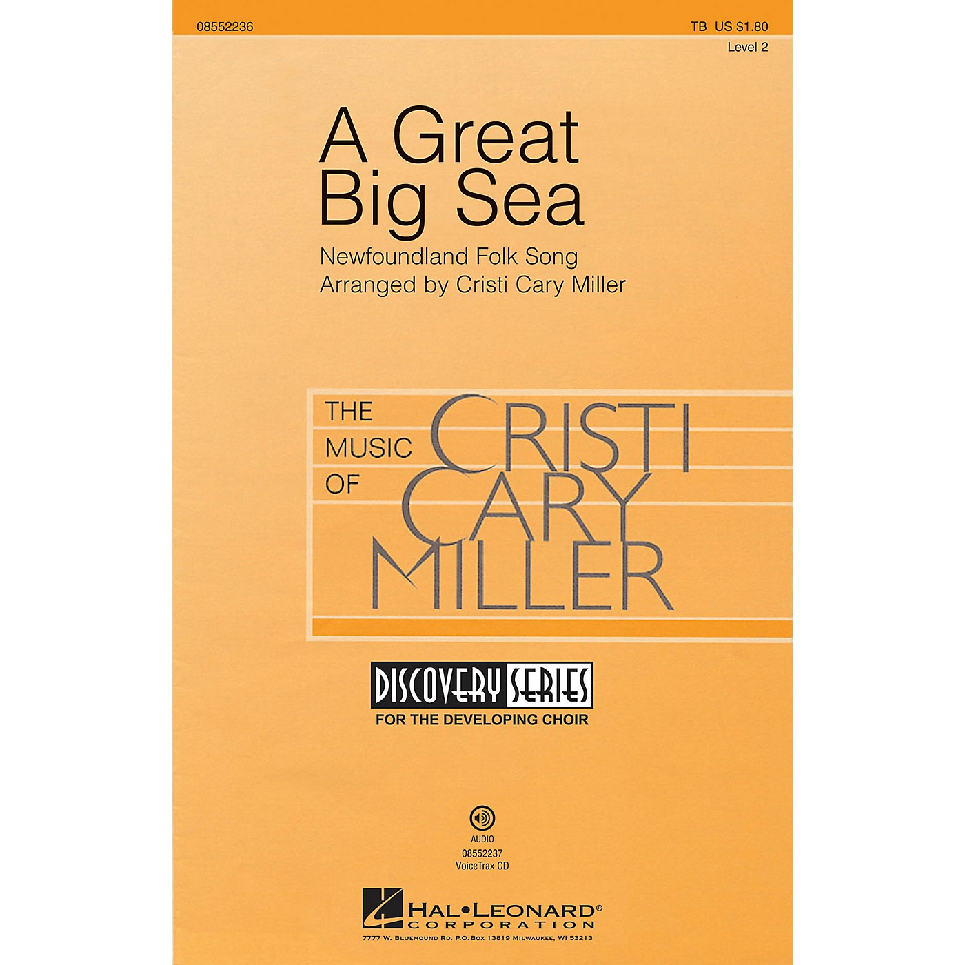 Hal Leonard A Great Big Sea (Discovery Level 1) TB arranged by Cristi Cary Miller thumbnail