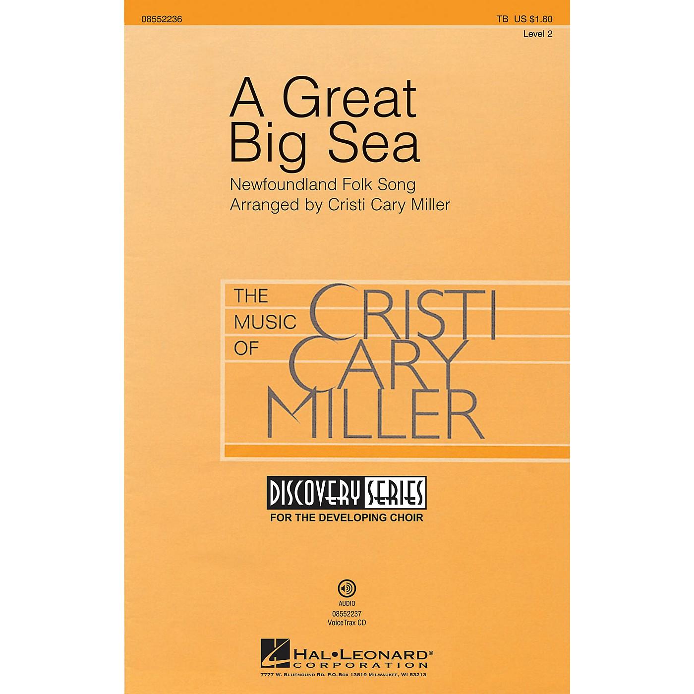 Hal Leonard A Great Big Sea VoiceTrax CD Arranged by Cristi Cary Miller thumbnail