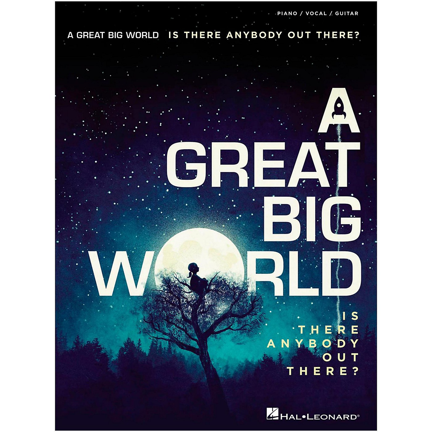 Hal Leonard A Great Big World - Is There Anybody Out There? For Piano/Vocal/Guitar thumbnail
