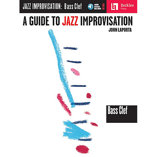 Berklee Press A Guide to Jazz Improvisation (Bass Clef Edition) Berklee Guide Series Softcover with CD by John LaPorta thumbnail