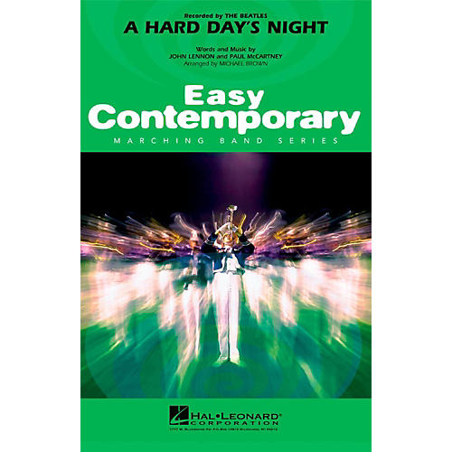 Hal Leonard A Hard Day's Night - Easy Pep Band/Marching Band Level 2 thumbnail