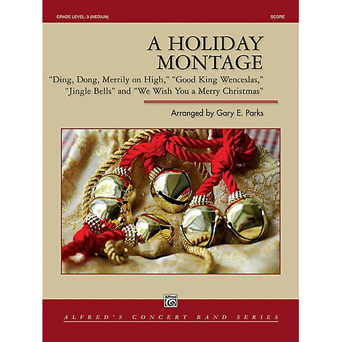 Alfred A Holiday Montage Concert Band Grade 3 Set thumbnail